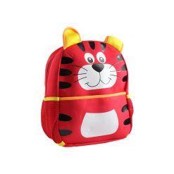 Mochilinha Infantil Vermelho Tigre